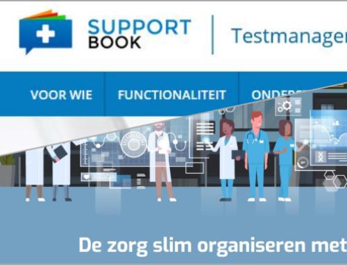 Supportbook en iCON healthcare integreren unieke functionaliteiten