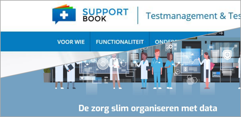 Supportbook en iCON healthcare integreren unieke functionaliteiten